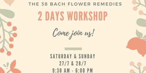 The 38 Bach Flower Remedies