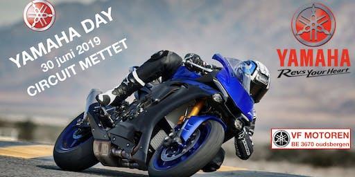 Yamaha Day 2019 circuit Mettet