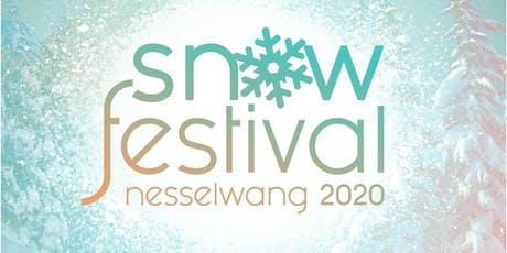 Snowfestival 2020 in Nesselwang Tickets