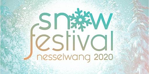 Snowfestival 2020 in Nesselwang