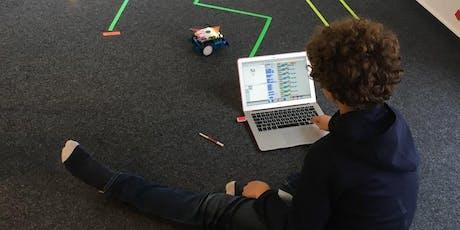 Einmaliger Workshop: Roboter programmieren und dokumentieren (8-11 Jahre) Tickets