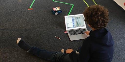 Einmaliger Workshop: Roboter programmieren und dokumentieren (8-11 Jahre)