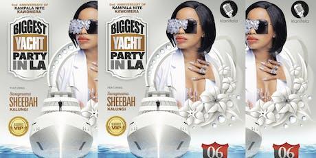Kampala Night La 2nd Anniversary Cruise tickets