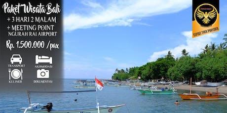 Paket Tour Bali Murah 3 Hari 2 Malam Terbaru dan Terlengkap tickets