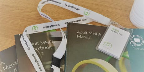 Mental Health First Aid- 2 Day Adult tickets
