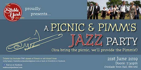A Picnic & Pimm's Jazz Party tickets