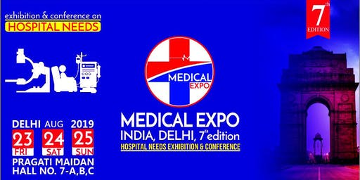 7th Medical Expo India, Delhi 2019