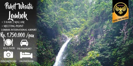 Paket Wisata Lombok Murah 3 Hari 2 Malam tickets