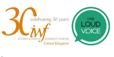 IWFUK and One Loud Voice joint event