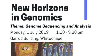 QMUL New Horizons in Genomics: Genome Sequencing and Analysis tickets
