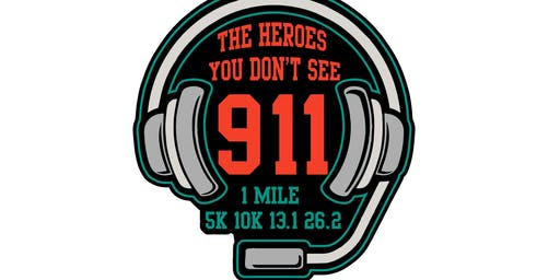 2019 The Heroes You Don't See 1 Mile, 5K, 10K, 13.1, 26.2 -Raleigh