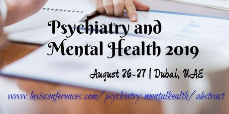 Psychiatry and Mental Health 2019 tickets
