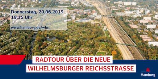 3. Radtour über die neue Wilhelmsburger Reichsstraße (2. TERMIN des Tages )