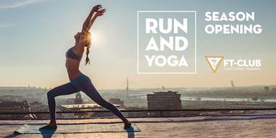 Run and YOGA  Season Opening