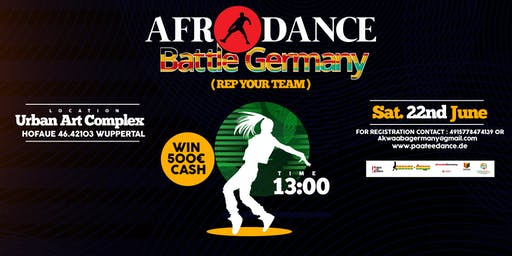 AFRO DANCE BATTLE GERMANY