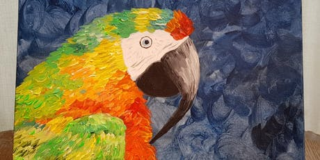 Paint by Wine - Hybrid Macaw tickets