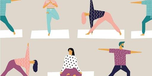 Yoga Flow Wednesdays