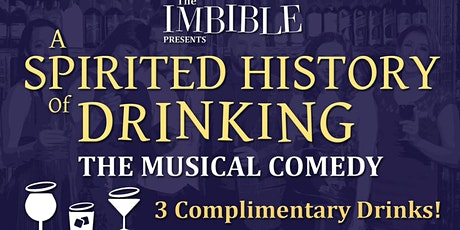 """""""The Imbible: A Spirited History of Drinking"""" tickets"""