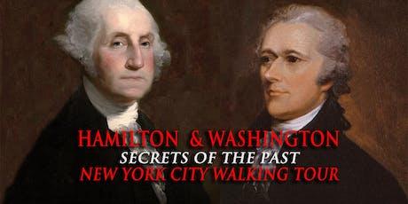 """Hamilton & Washington: Secrets of the Past"" Walking Tour tickets"