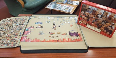 Jigsaws for Stress Busting! (Rishton)