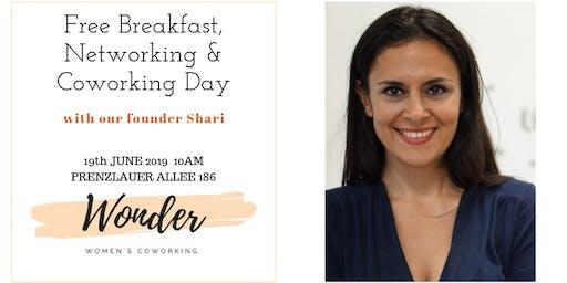 Breakfast, Networking & Coworking Day @ Women´s Coworking Space Wonder