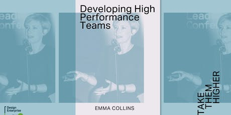 Developing High Performance Creative Teams tickets