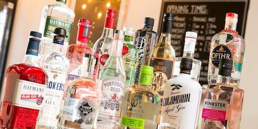 Gin Therapy - Shrewsbury Food Festival Fringe, Local Gin Showcase