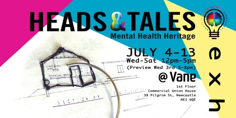 Heads & Tales Exhibition, Mental Health Heritage tickets