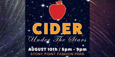 Cider Under the Stars tickets