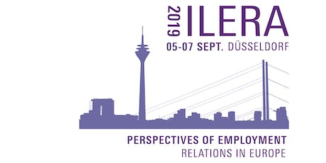 ILERA European Congress: 05-07 Sept. 2019 tickets