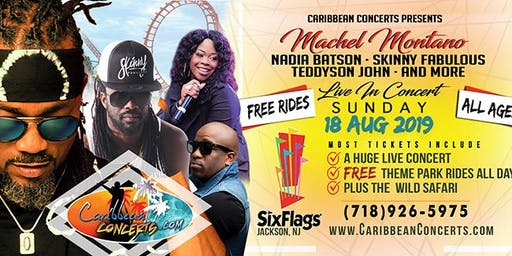 Caribbean Concerts at Six Flags 2019