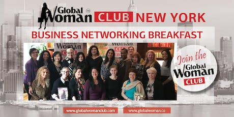 GLOBAL WOMAN CLUB NEW YORK: BUSINESS NETWORKING BREAKFAST - AUGUST tickets