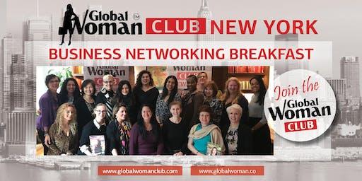 GLOBAL WOMAN CLUB NEW YORK: BUSINESS NETWORKING BREAKFAST - AUGUST