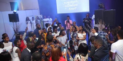 Sunday Worship Service at the energetic Church in Wembley