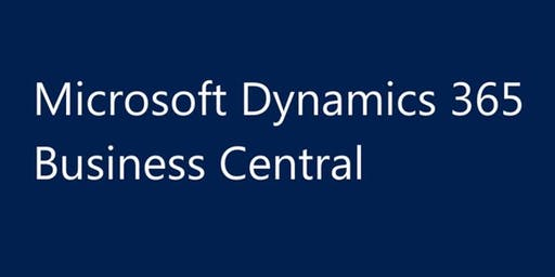 Indianapolis, IN | Introduction to Microsoft Dynamics 365 Business Central (Previously NAV, GP, SL) Training for Beginners | Upgrade, Migrate from Navision, Great Plains, Solomon, Quickbooks to Dynamics 365 Business Central migration training bootcamp