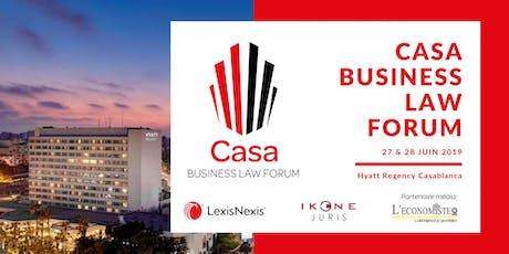 Casa Business Law Forum 2019 billets