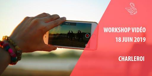 Workshop vidéo par CYGNUM à Charleroi