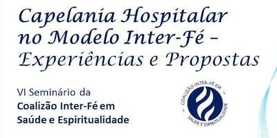 Capelania Hospitalar no Modelo Inter-Fé - Experiências e Propostas