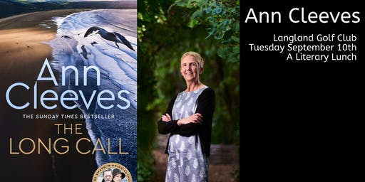 A literary lunch with Ann Cleeves
