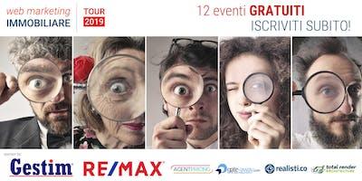 Web Marketing Immobiliare - TOUR 2019 - Catania