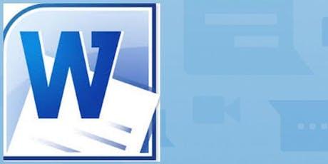 Microsoft Word Level 3 tickets