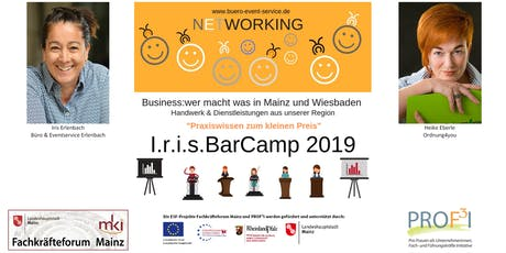 I.r.i.s. BarCamp 2019 Tickets