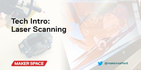 Tech Intro: Laser Scanning tickets