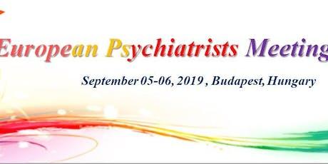 European Psychiatrists Meeting tickets