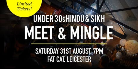FREE Hindu & Sikh Meet and Mingle Social Evening - Under 30s | Leicester tickets