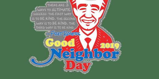 2019 Good Neighbor Day 1 Mile, 5K, 10K, 13.1, 26.2 -Charleston