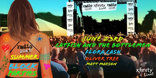 Radio 104.5 Summer Block Party 6/23