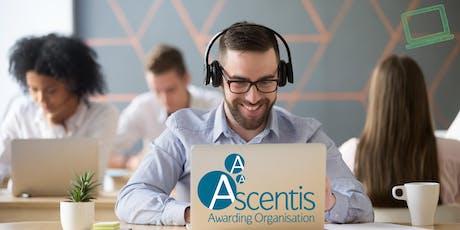 Ascentis Short Online Qualifications (SOQs) Quality Assurance Webinar  tickets
