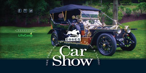 The Car Show at Mars Essex Horse Trials Country Weekend