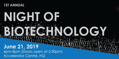 A Night of Biotechnology tickets